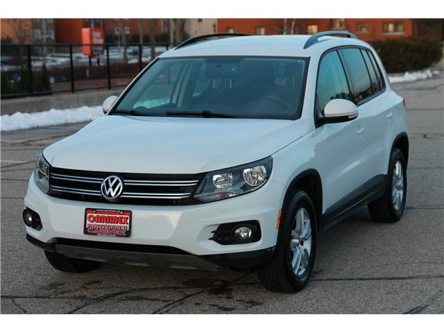 2015 Volkswagen Tiguan Trendline (Stk: 1811549) in Waterloo - Image 1 of 26