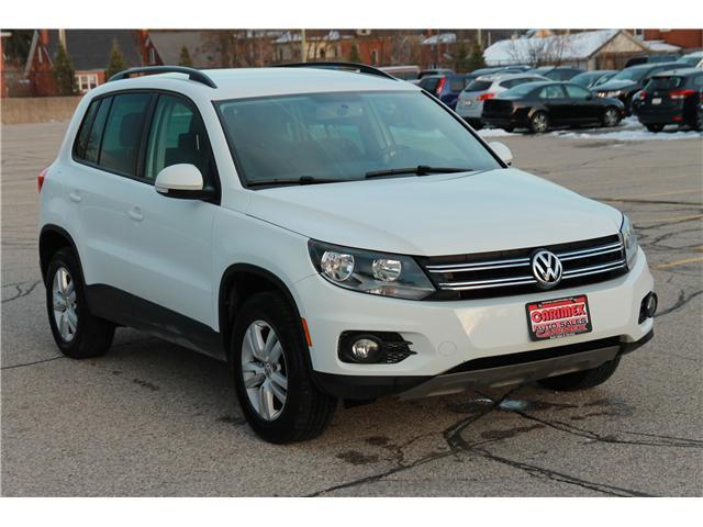 2015 Volkswagen Tiguan Trendline (Stk: 1811549) in Waterloo - Image 7 of 26