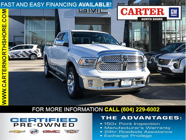2015 RAM 1500 Laramie (Stk: 8D75991) in North Vancouver - Image 1 of 29