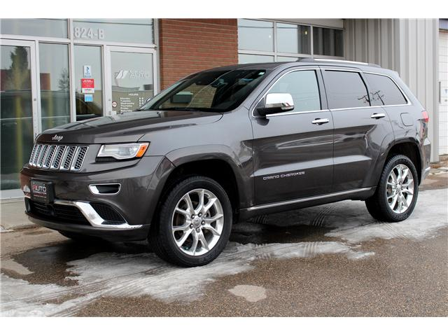2014 Jeep Grand Cherokee Summit (Stk: 452032) in Saskatoon - Image 1 of 28