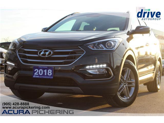 2018 Hyundai Santa Fe Sport 2.0T SE (Stk: AP4707R) in Pickering - Image 1 of 32