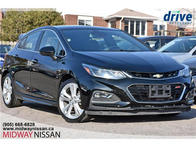 2017 Chevrolet Cruze Hatch Premier Auto (Stk: U1516) in Whitby - Image 1 of 27