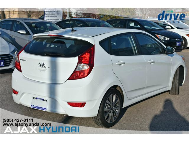 2017 Hyundai Accent GLS (Stk: 17281) in Ajax - Image 7 of 23