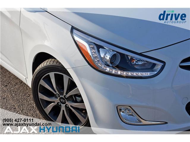 2017 Hyundai Accent GLS (Stk: 17281) in Ajax - Image 10 of 23