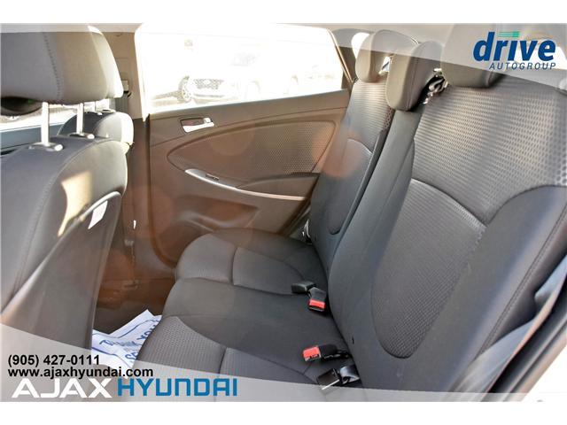 2017 Hyundai Accent GLS (Stk: 17281) in Ajax - Image 11 of 23