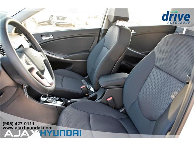 2017 Hyundai Accent GLS (Stk: 17281) in Ajax - Image 12 of 23