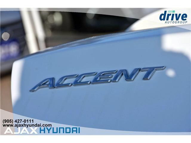2017 Hyundai Accent GLS (Stk: 17281) in Ajax - Image 14 of 23
