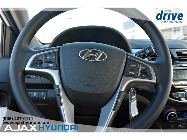 2017 Hyundai Accent GLS (Stk: 17281) in Ajax - Image 17 of 23