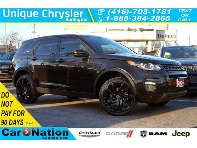 2016 Land Rover Discovery Sport HSE LUXURY| BLACK DESIGN PACK| 5+2 SEATS (Stk: P3145) in Burlington - Image 1 of 30