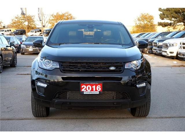 2016 Land Rover Discovery Sport HSE LUXURY| BLACK DESIGN PACK| 5+2 SEATS (Stk: P3145) in Burlington - Image 2 of 30