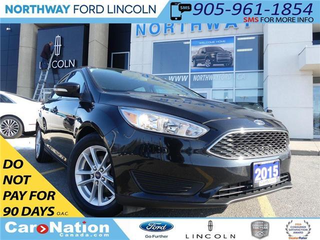 2015 Ford Focus SE   REAR CAM   LOW KM   BLUETOOTH   (Stk: TN84182F) in Brantford - Image 1 of 24