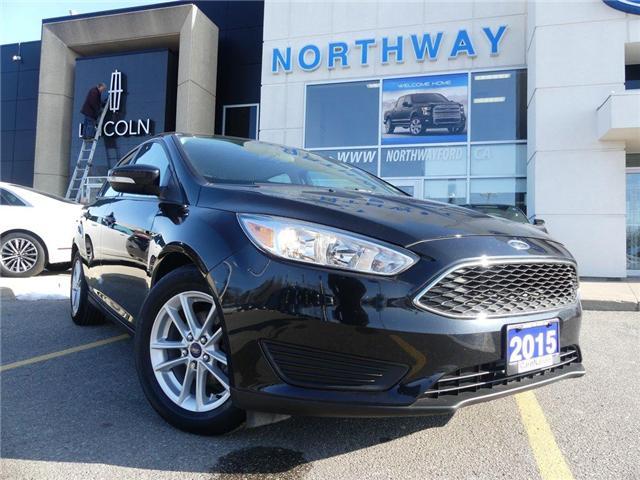 2015 Ford Focus SE   REAR CAM   LOW KM   BLUETOOTH   (Stk: TN84182F) in Brantford - Image 2 of 24