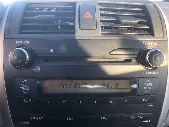 2010 Toyota Corolla  (Stk: 284277) in Calgary - Image 12 of 14