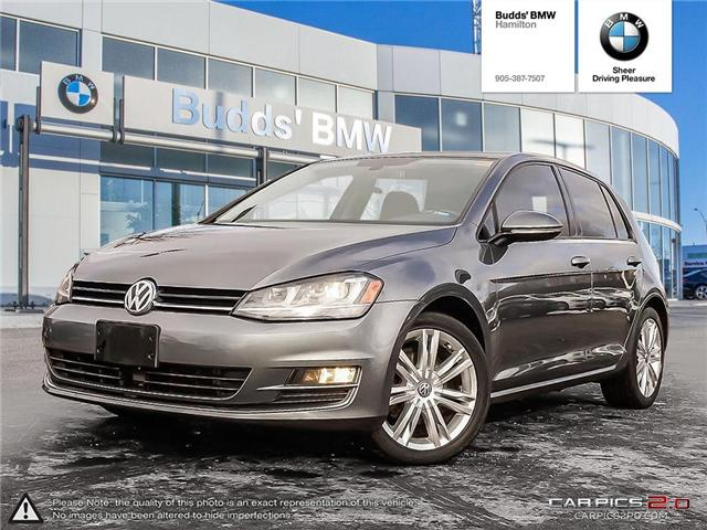2015 Volkswagen Golf 1.8 TSI Highline (Stk: T35433PA) in Hamilton - Image 1 of 26