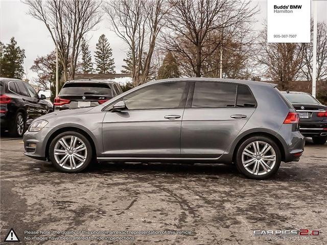 2015 Volkswagen Golf 1.8 TSI Highline (Stk: T35433PA) in Hamilton - Image 3 of 26