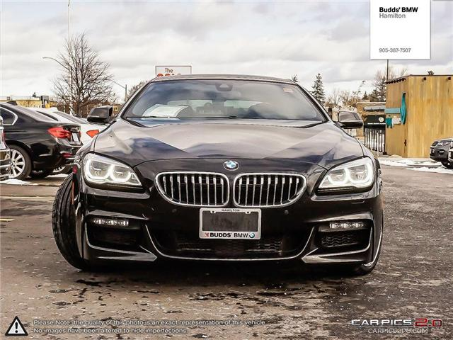 2017 BMW 650 Gran Coupe  (Stk: B18483A) in Hamilton - Image 2 of 27