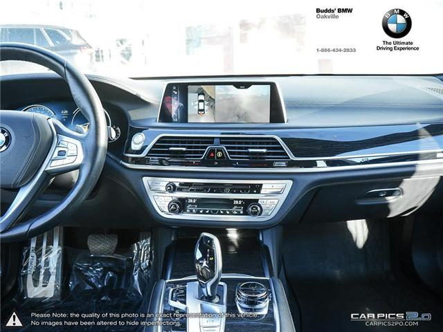 2016 BMW 750 Li xDrive (Stk: DB5448) in Oakville - Image 10 of 25