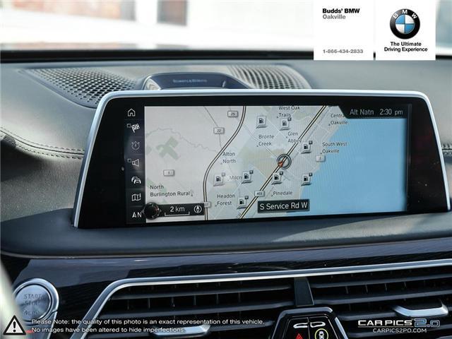 2016 BMW 750 Li xDrive (Stk: DB5448) in Oakville - Image 16 of 25
