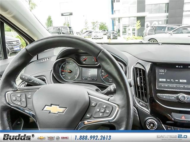 2017 Chevrolet Cruze Premier Auto (Stk: R1339) in Oakville - Image 9 of 25
