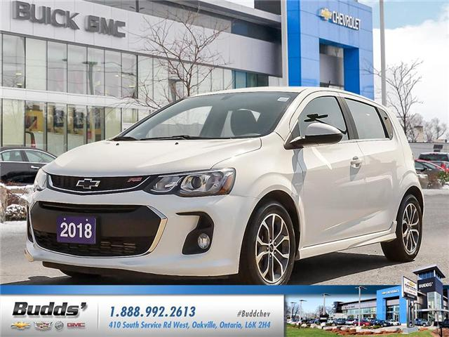 2018 Chevrolet Sonic LT Auto (Stk: R1355) in Oakville - Image 1 of 25