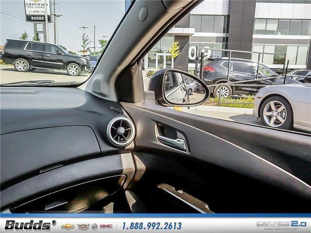 2018 Chevrolet Sonic LT Auto (Stk: R1360) in Oakville - Image 11 of 25