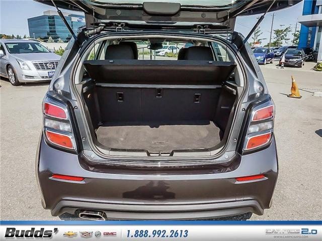 2018 Chevrolet Sonic LT Auto (Stk: R1360) in Oakville - Image 19 of 25