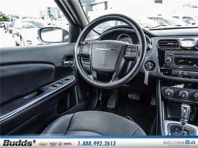 2014 Chrysler 200 LX (Stk: SR8022A) in Oakville - Image 9 of 25