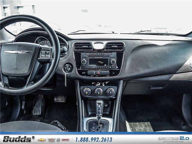 2014 Chrysler 200 LX (Stk: SR8022A) in Oakville - Image 10 of 25