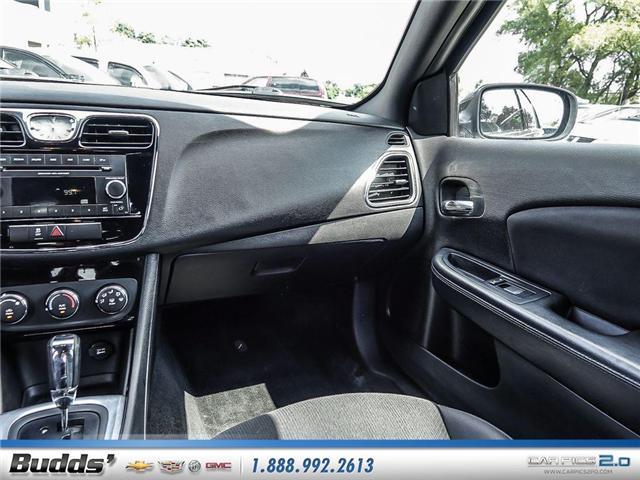 2014 Chrysler 200 LX (Stk: SR8022A) in Oakville - Image 11 of 25
