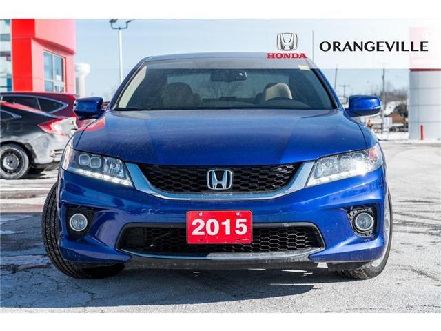2015 Honda Accord EX-L-NAVI V6 (Stk: U3023) in Orangeville - Image 2 of 21