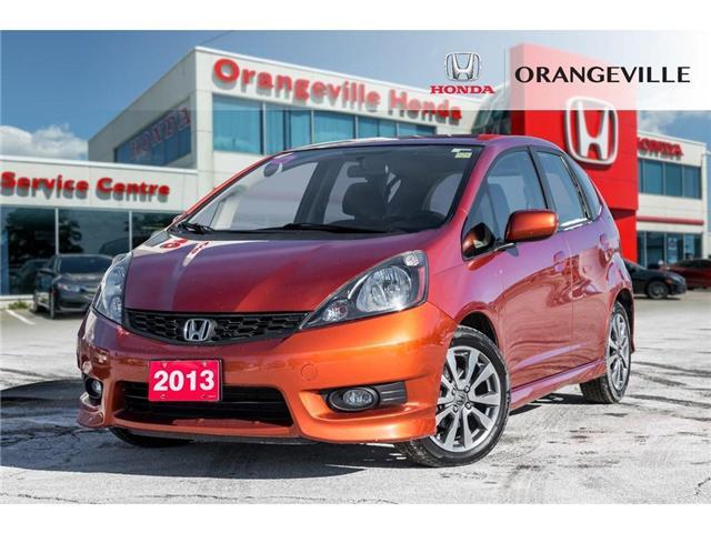 2013 Honda Fit Sport (Stk: F18388A) in Orangeville - Image 1 of 18