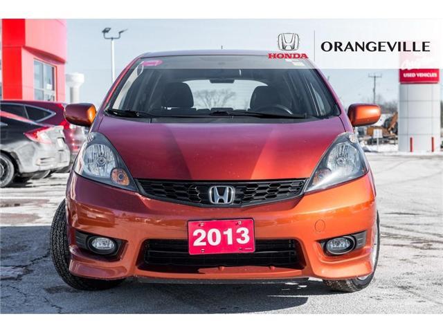 2013 Honda Fit Sport (Stk: F18388A) in Orangeville - Image 2 of 18
