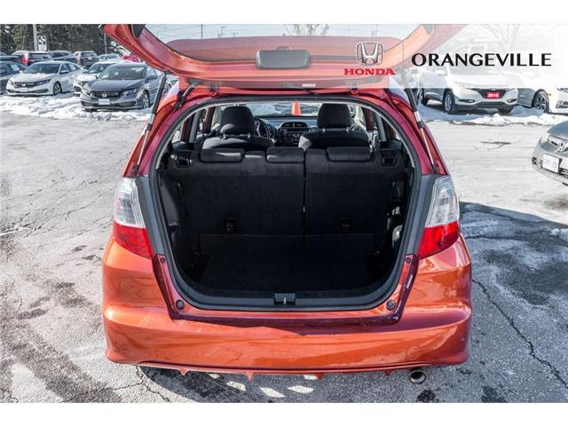 2013 Honda Fit Sport (Stk: F18388A) in Orangeville - Image 7 of 18