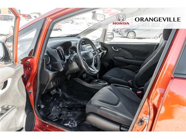 2013 Honda Fit Sport (Stk: F18388A) in Orangeville - Image 8 of 18