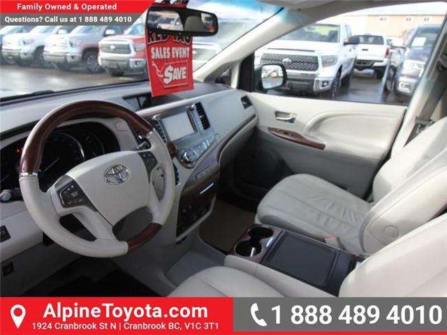 2013 Toyota Sienna V6 7 Passenger (Stk: S201372A) in Cranbrook - Image 9 of 19