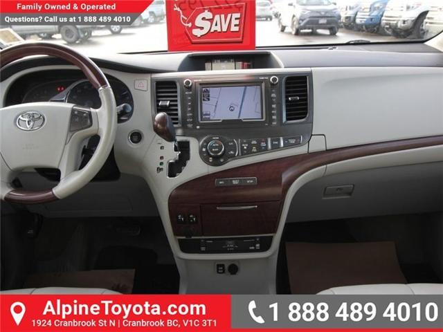 2013 Toyota Sienna V6 7 Passenger (Stk: S201372A) in Cranbrook - Image 10 of 19