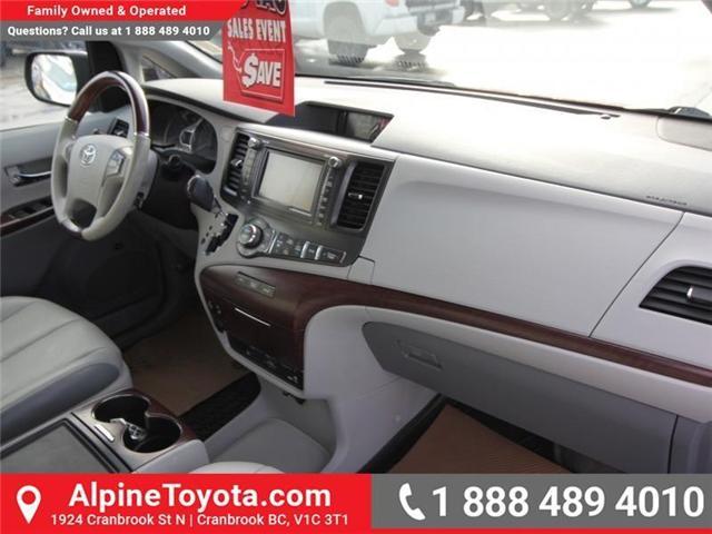 2013 Toyota Sienna V6 7 Passenger (Stk: S201372A) in Cranbrook - Image 11 of 19