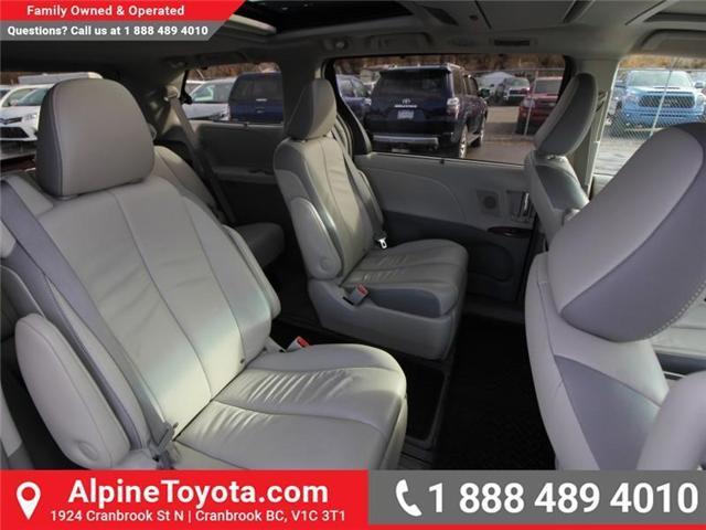 2013 Toyota Sienna V6 7 Passenger (Stk: S201372A) in Cranbrook - Image 12 of 19
