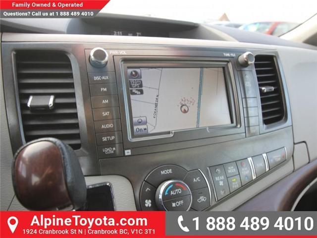 2013 Toyota Sienna V6 7 Passenger (Stk: S201372A) in Cranbrook - Image 14 of 19