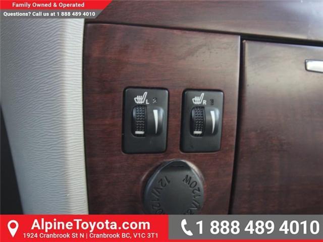 2013 Toyota Sienna V6 7 Passenger (Stk: S201372A) in Cranbrook - Image 15 of 19