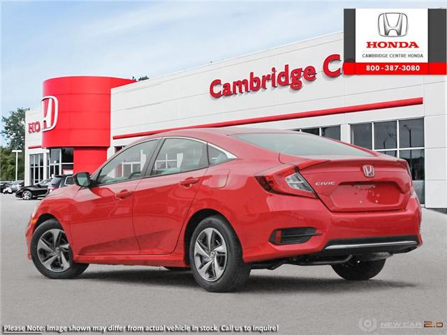 2019 Honda Civic LX (Stk: 19250) in Cambridge - Image 4 of 24
