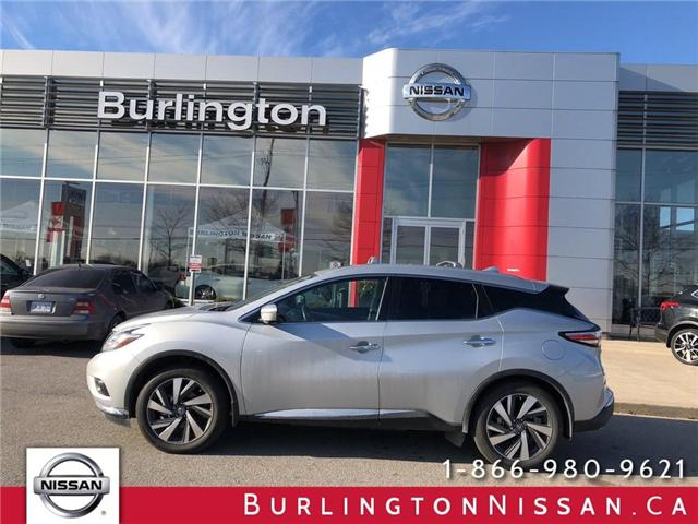 2016 Nissan Murano Platinum (Stk: X4432A) in Burlington - Image 1 of 22