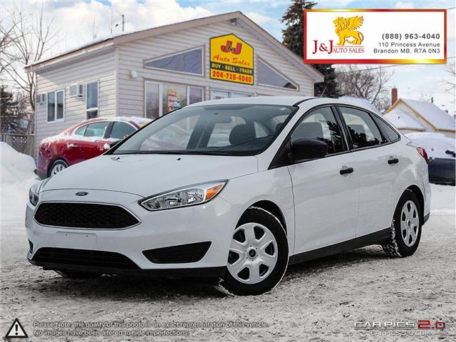 2015 Ford Focus S (Stk: J18079-1) in Brandon - Image 1 of 27