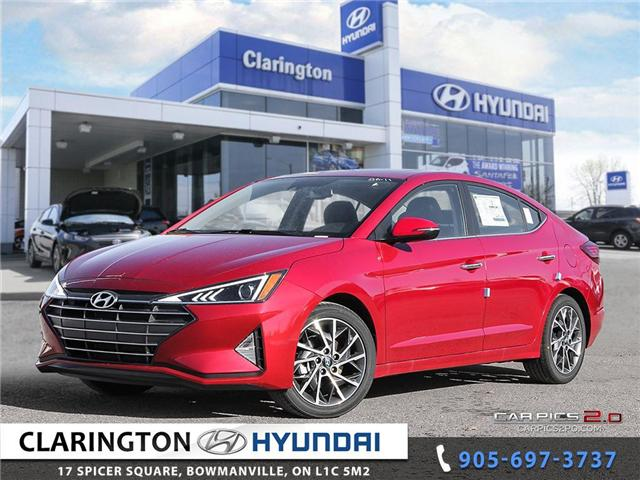 2019 Hyundai Elantra Luxury (Stk: 18811) in Clarington - Image 1 of 27