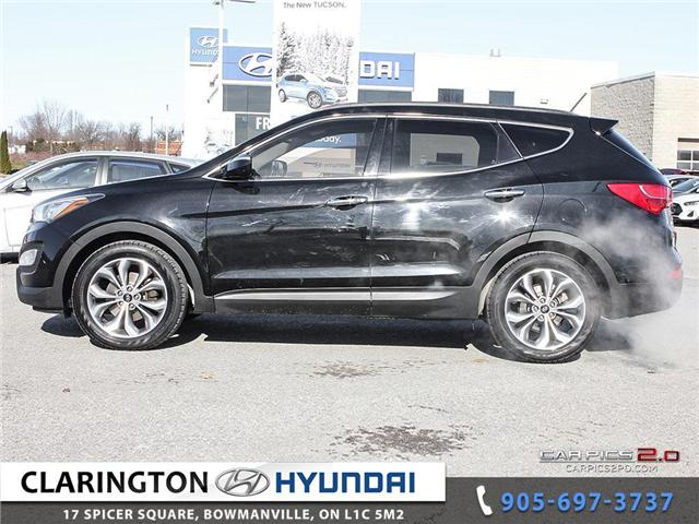 2015 Hyundai Santa Fe Sport 2.0T Limited (Stk: U795) in Clarington - Image 3 of 27