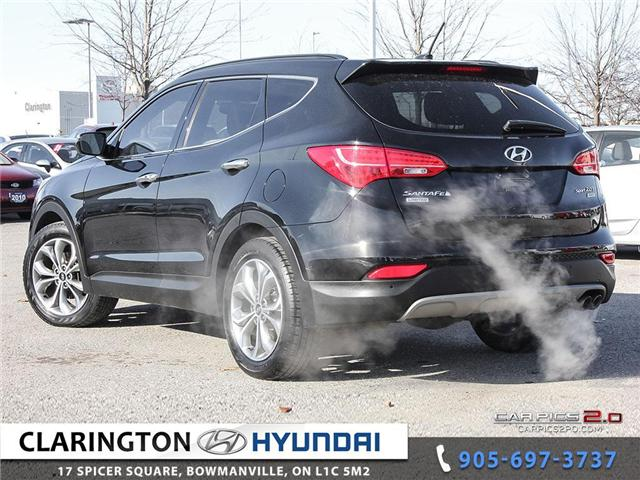 2015 Hyundai Santa Fe Sport 2.0T Limited (Stk: U795) in Clarington - Image 4 of 27