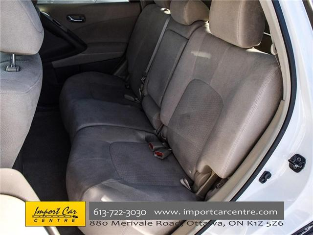 2012 Nissan Murano SV (Stk: 215084) in Ottawa - Image 12 of 23