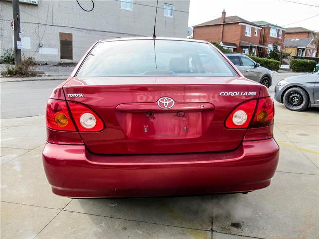 2004 Toyota Corolla CE (Stk: U06343) in Toronto - Image 5 of 11