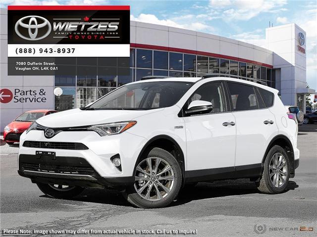 2018 Toyota RAV4 AWD Hybrid Limited (Stk: 67735) in Vaughan - Image 1 of 22