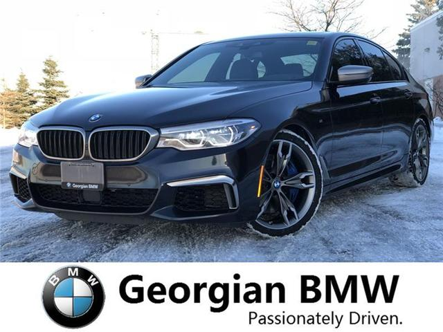 2018 BMW M550i xDrive (Stk: B19053-1) in Barrie - Image 1 of 21